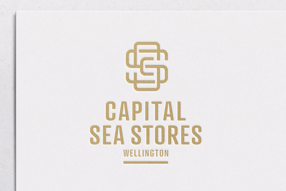 Capital Sea Stores logo design